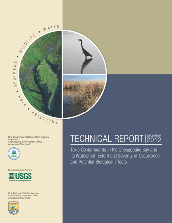 Cover of Toxic contaminants in the Chesapeake Bay and its watershed report