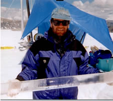 USGS Scientist in the field