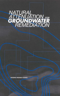 Cover of Attenuation for Groundwater Remediation report