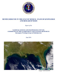 Report Cover: Methylmercury in the Gulf of Mexico - State of knowledge and reasearch needs