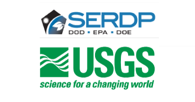 SERDP and USGS logos