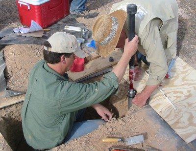 Collecting Soil-Pit Samples for a Collaborative Study with the U.s. Army Near Yuma, Arizona