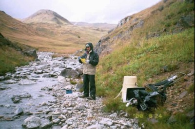 Continuous Water-Quality Sampling Site - North Fork of the Animas River, Colorado