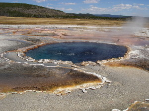 Mound Spring, Sentinel Meadows, Yellowstone