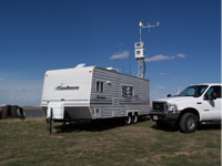 Field-deployed USGS Mobile Atmospheric Mercury Laboratory at Four Corners Study Site, CO