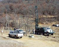 B site well drilling 2.